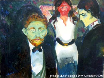 edvard munch (1863 - 1944) : çığlık Trio-munch